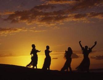 Four <b>hula dancers</b>. | <b>HULA</b> VINTAGE | Pinterest | Best <b>Hula</b> and <b>Hula</b> ...